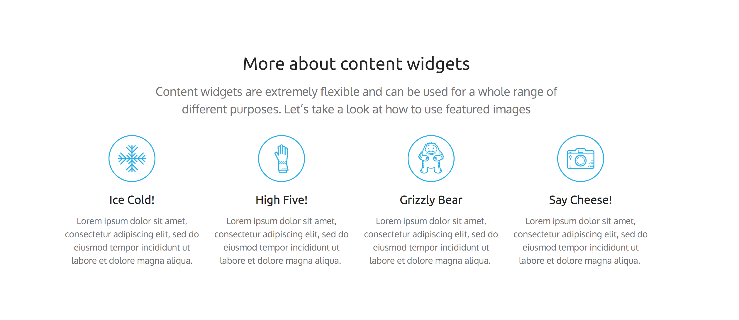 content_widget_and_featured_images_1_skizzar_website_builder